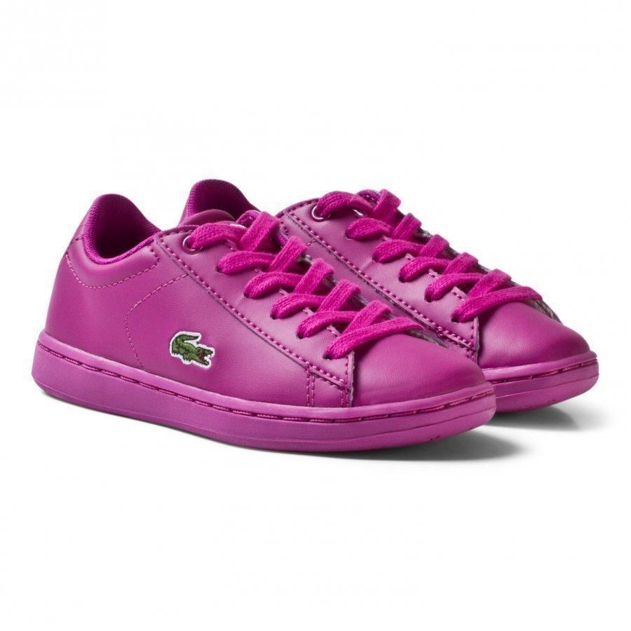 Lacoste Carnaby Evo 317 5 Spc Trainers Pink Lenkkarit