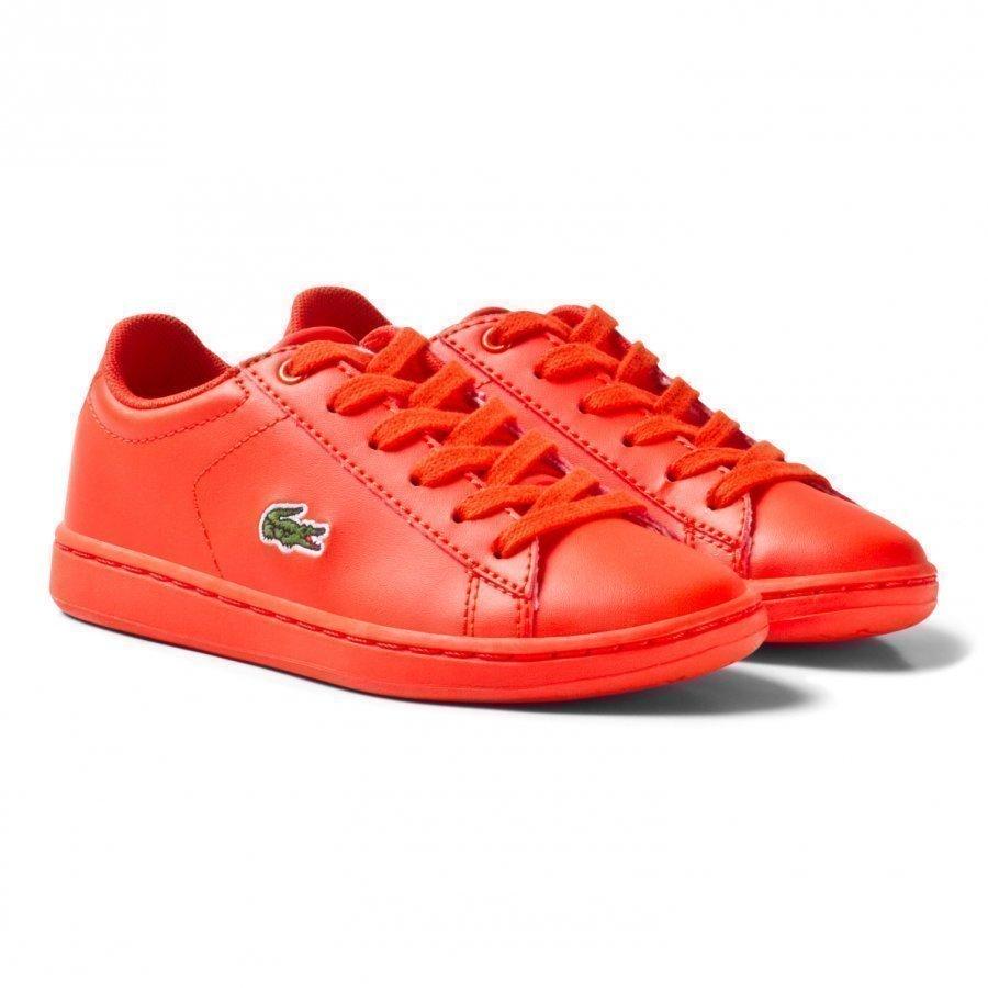 Lacoste Carnaby Evo 317 5 Spc Trainers Red Lenkkarit