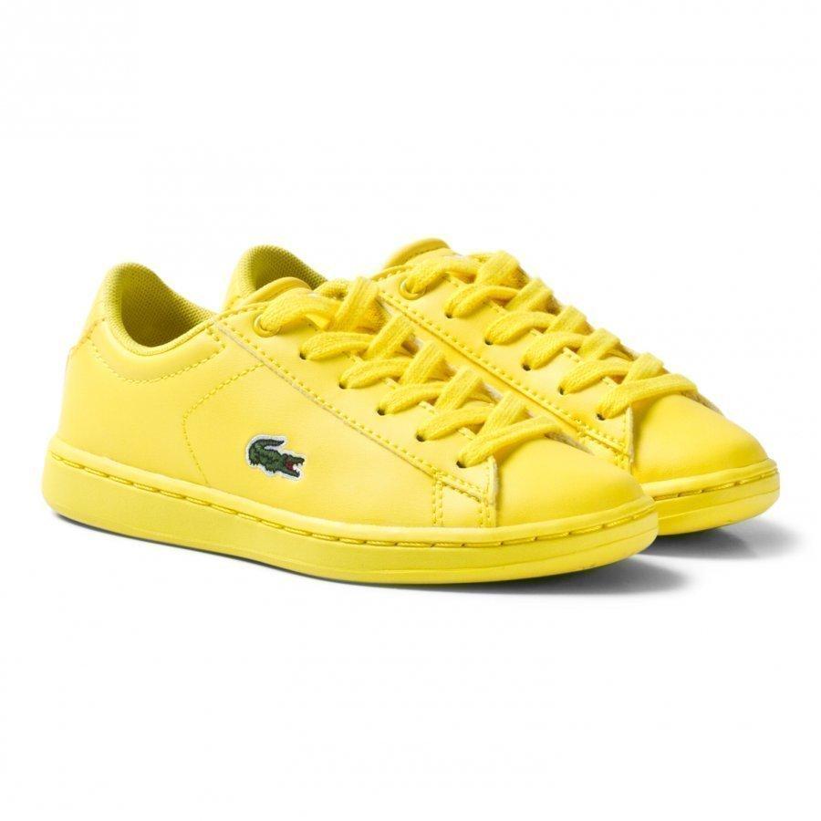 Lacoste Carnaby Evo 317 5 Spc Trainers Yellow Lenkkarit