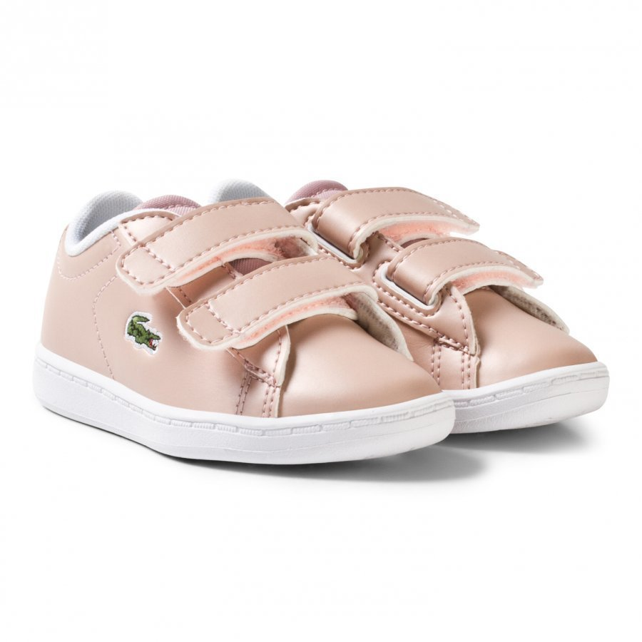 Lacoste Carnaby Evo Spi Trainers Pale Pink Lenkkarit