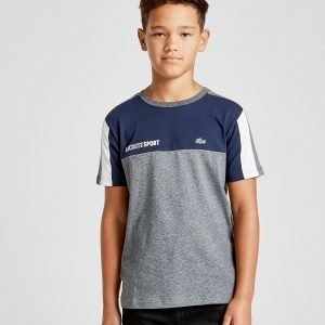 Lacoste Colour Block T-Shirt Harmaa