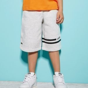Lacoste Fleece Shortsit Harmaa
