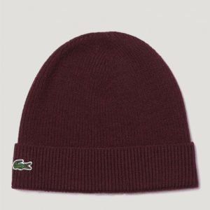 Lacoste Knitted Caps Hattu Punainen