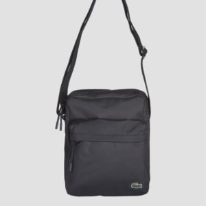 Lacoste Leather Goods Luggage Laukku Musta