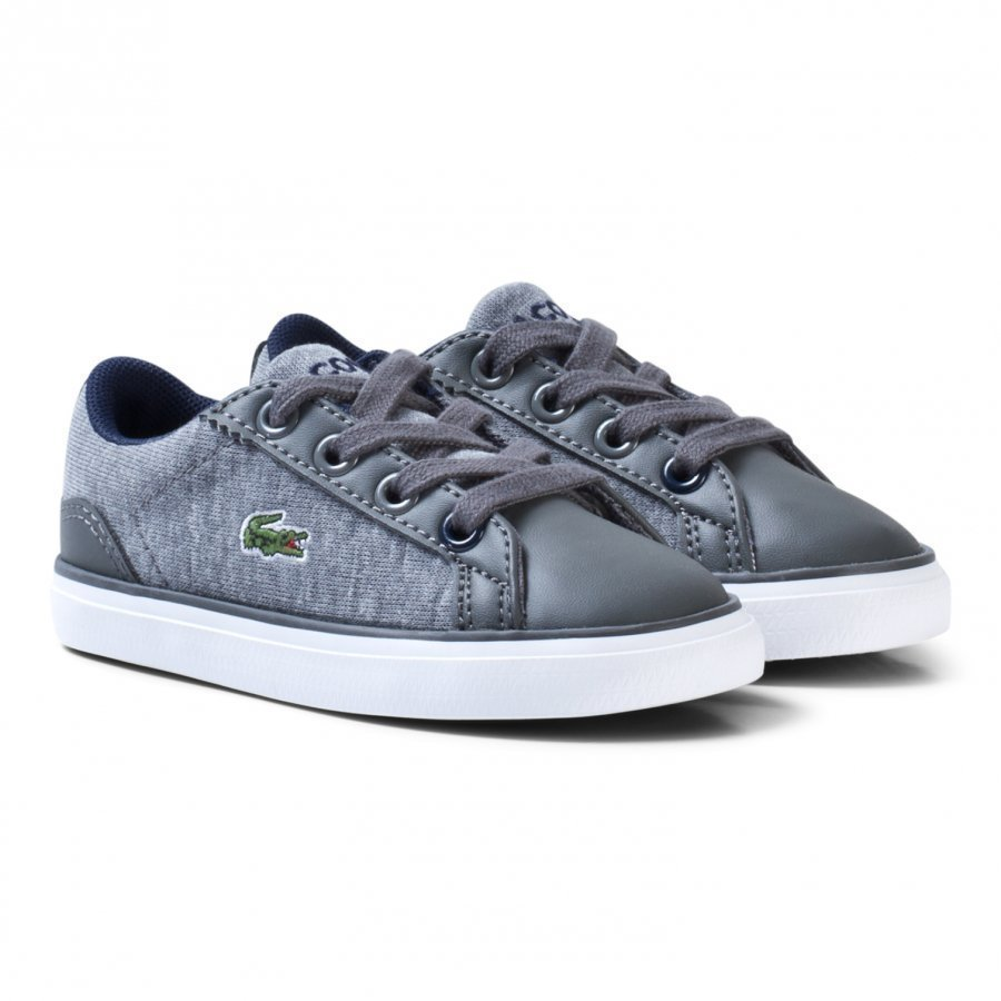 Lacoste Lerond 317 Marl Sneakers In Grey Lenkkarit