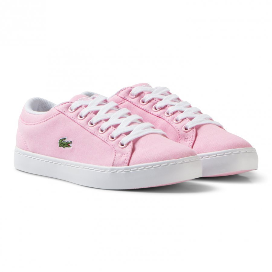 Lacoste Light Pink Straight Set Sneaker Children Lenkkarit