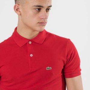 Lacoste Polos Pikee Punainen