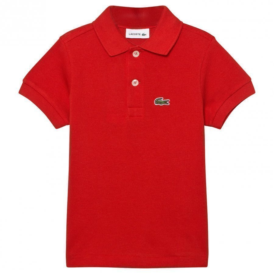 Lacoste Red Classic Pique Polo Pikeepaita