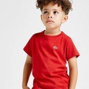 Lacoste Small Logo T-Shirt Punainen