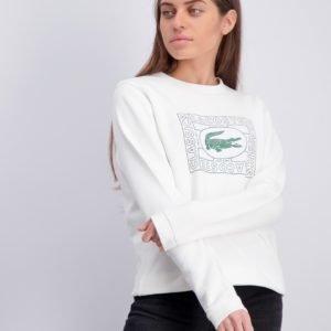 Lacoste Sweatshirt Neule Valkoinen