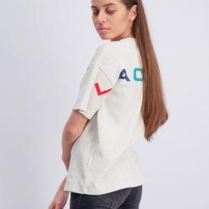 Lacoste T Shirt T-Paita Harmaa