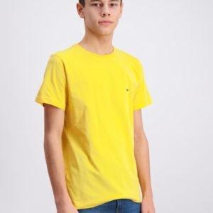 Lacoste T Shirt T-Paita Keltainen