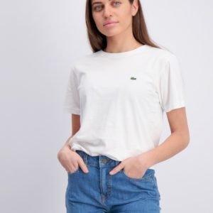 Lacoste T Shirt T-Paita Valkoinen