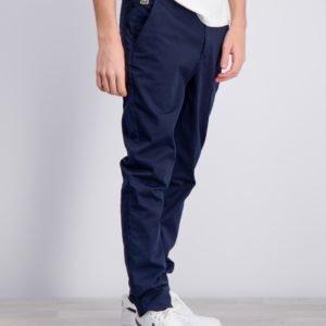 Lacoste Trousers Housut Sininen