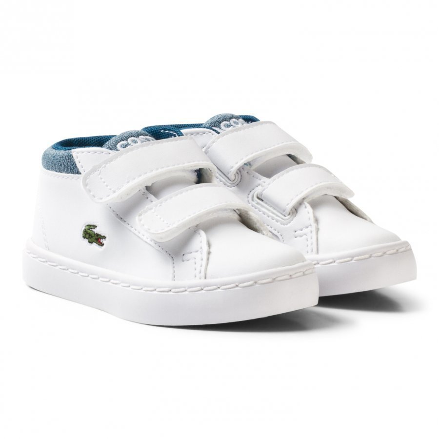 Lacoste White And Blue Chukka 317 1 Trainers Lenkkarit