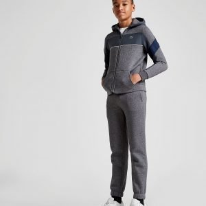 Lacoste Woven Panel Fleece Suit Harmaa