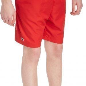 Lacoste Woven Shorts Punainen
