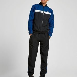 Lacoste Woven Tracksuit Musta
