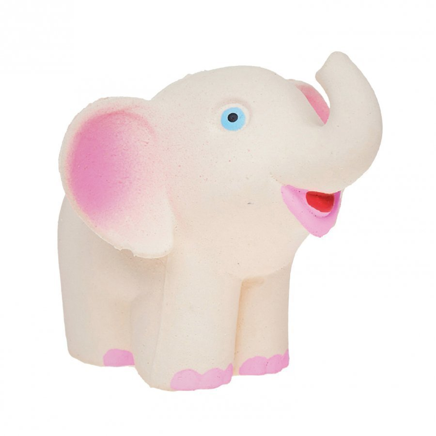 Lanco Elephant Natural Rubber Toy Kylpylelu