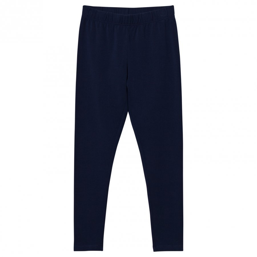 Lands End Navy Ankle Leggings Legginsit