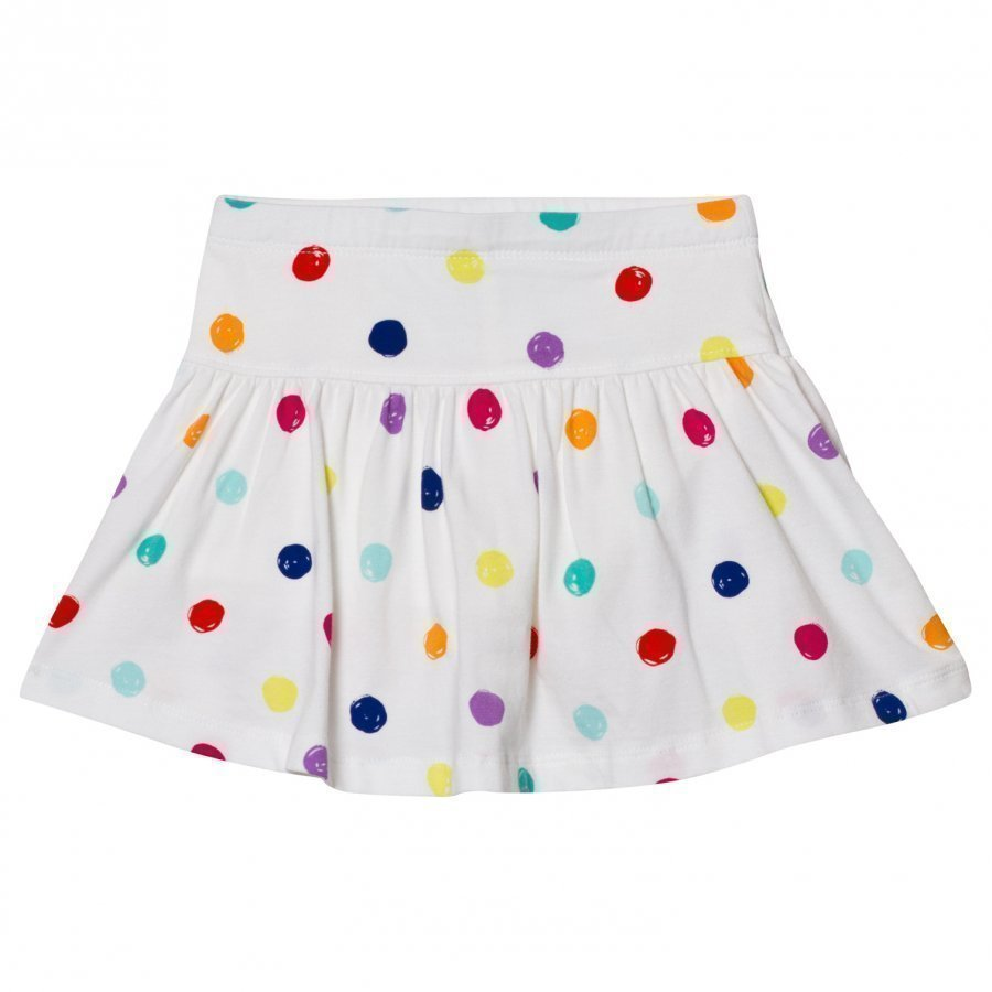 Lands End White Dot Twirl Skort Housuhame