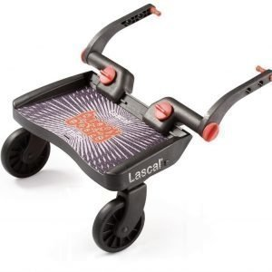 Lascal Seisomalauta Buggy Board Mini Musta