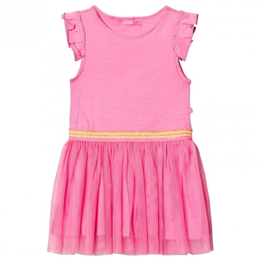 Le Big Elixane Dress Pink Mekko