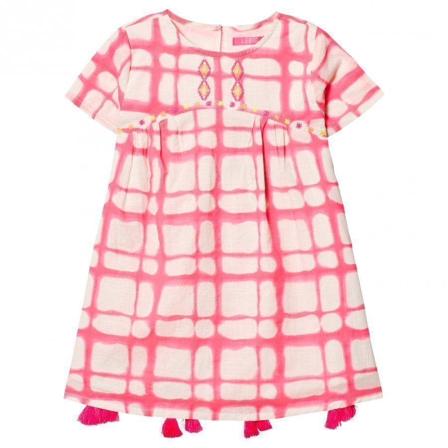 Le Big Elsie Dress Pink Juhlamekko