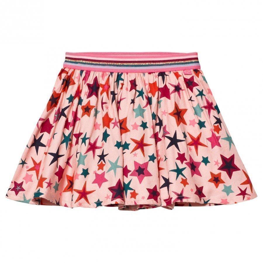 Le Big Gabriella Star Skirt Pink Lyhyt Hame