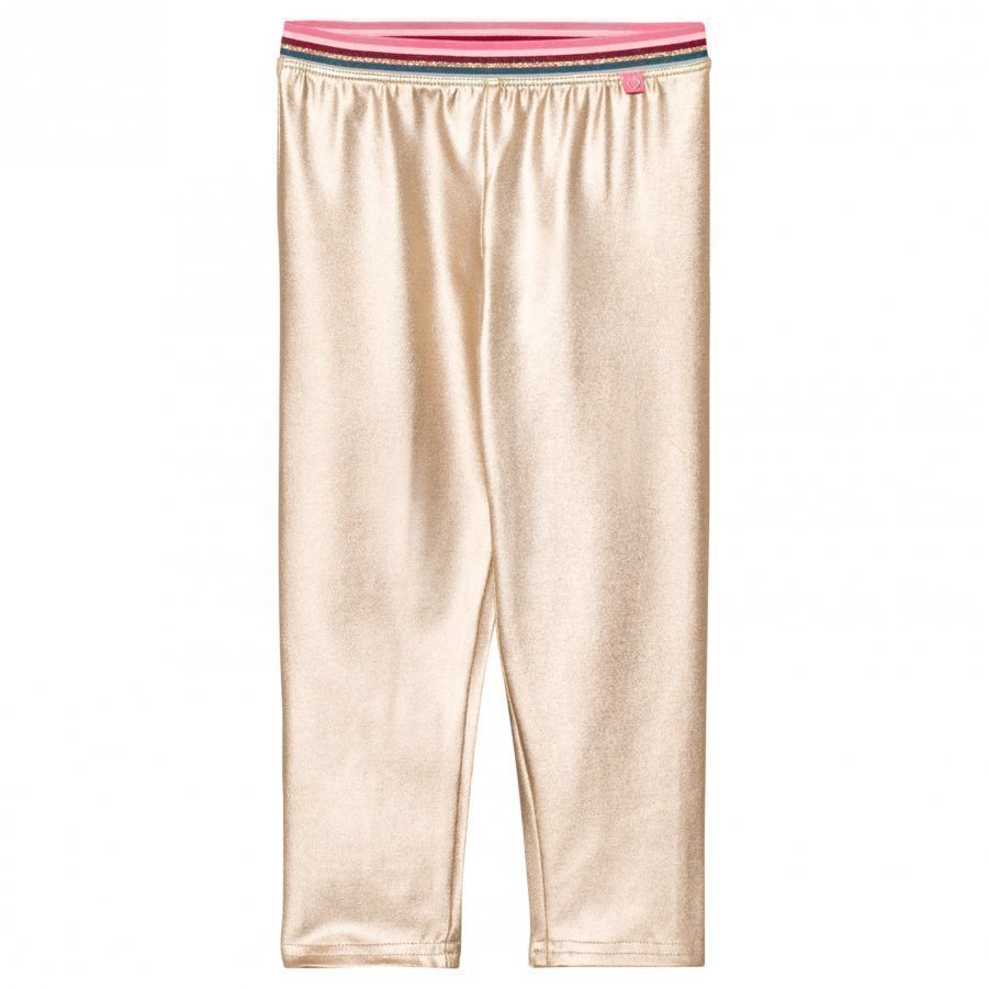 Le Big Gold Metallic Leggings Legginsit