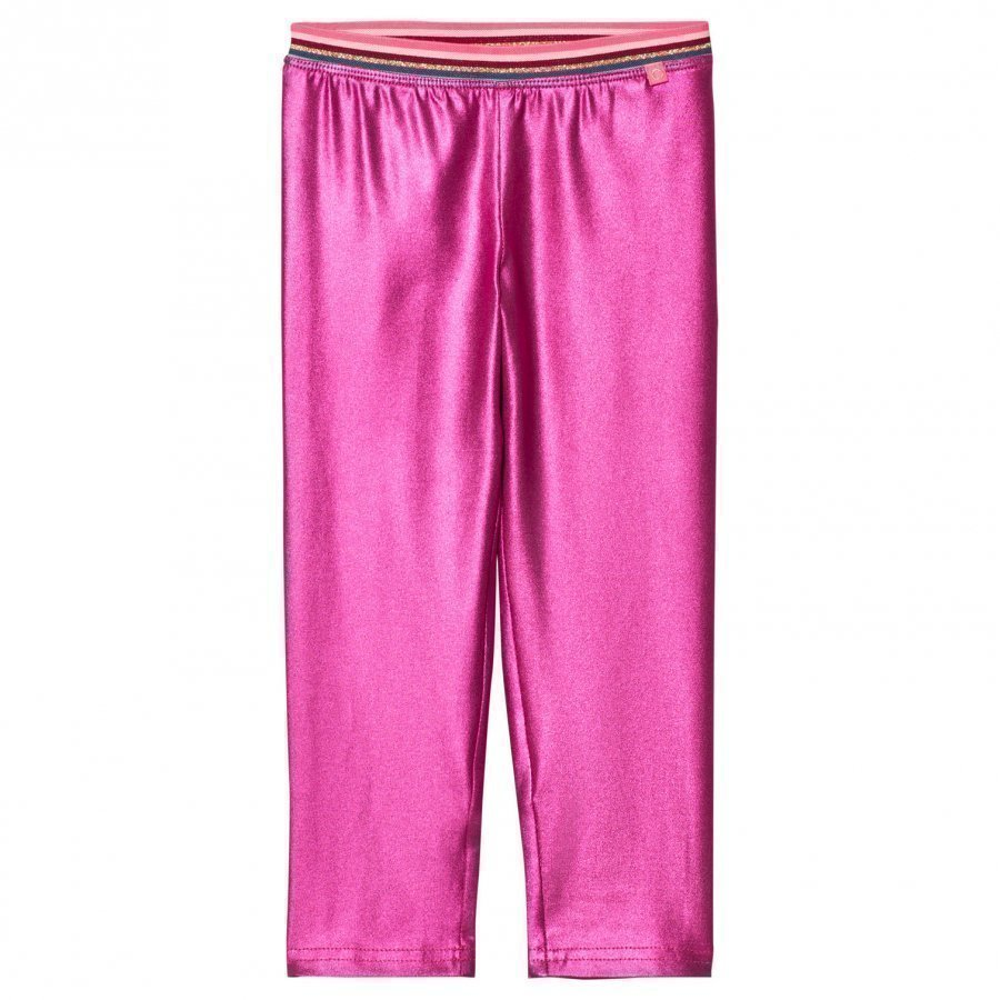 Le Big Super Pink Shimmer Leggings Legginsit