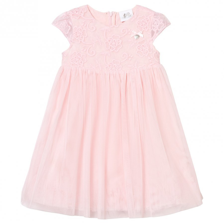 Le Chic Pink Tulle And Embroidered Ceremony Dress Mekko