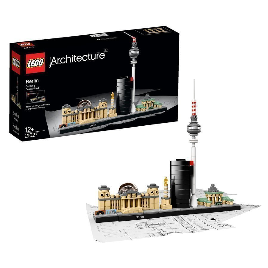 Lego Architecture Berliini 21027
