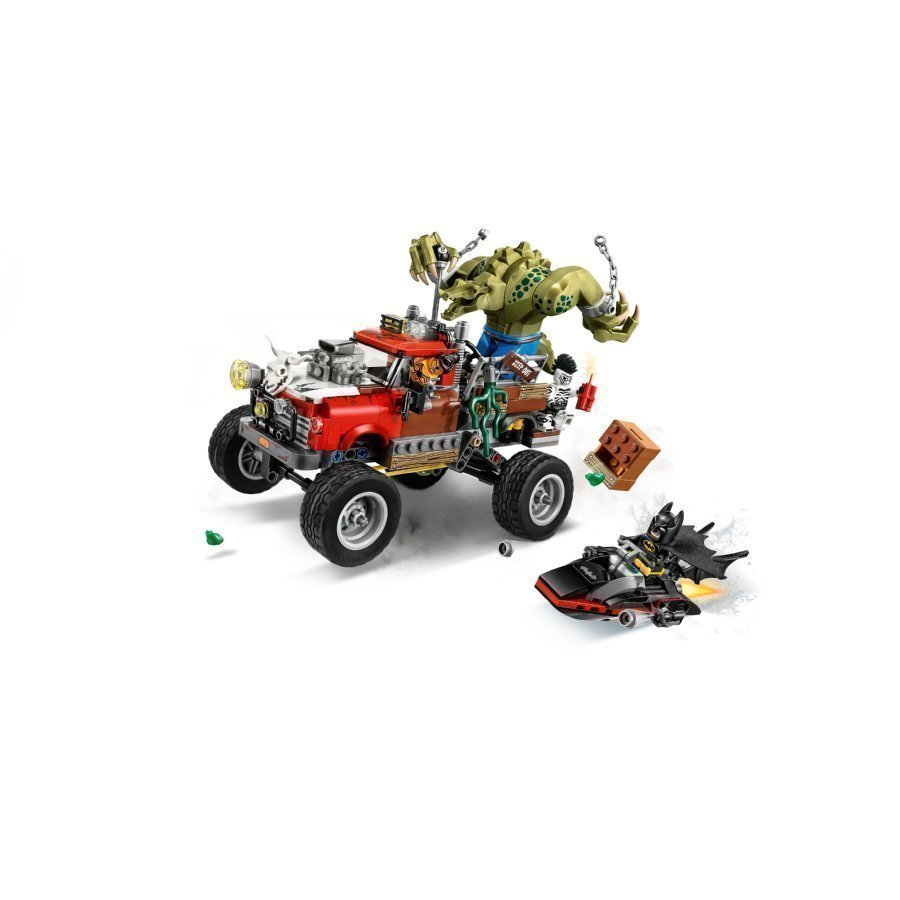 Lego Batman Movie Killer Croc Ja Varjostaja Alligaattori 70907