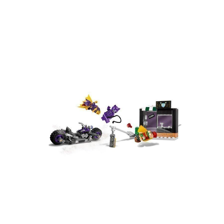 Lego Batman Movie Kissanainen Ja Takaa Ajo Moottoripyörällä 70902