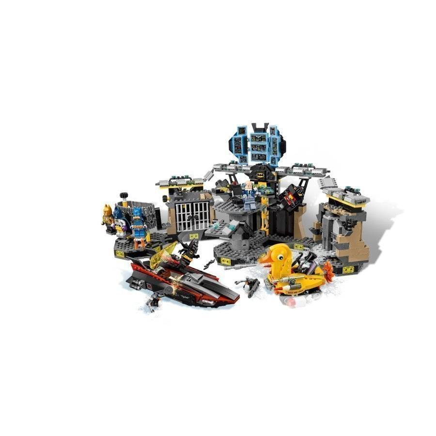 Lego Batman Movie Murto Lepakkoluolaan 70909