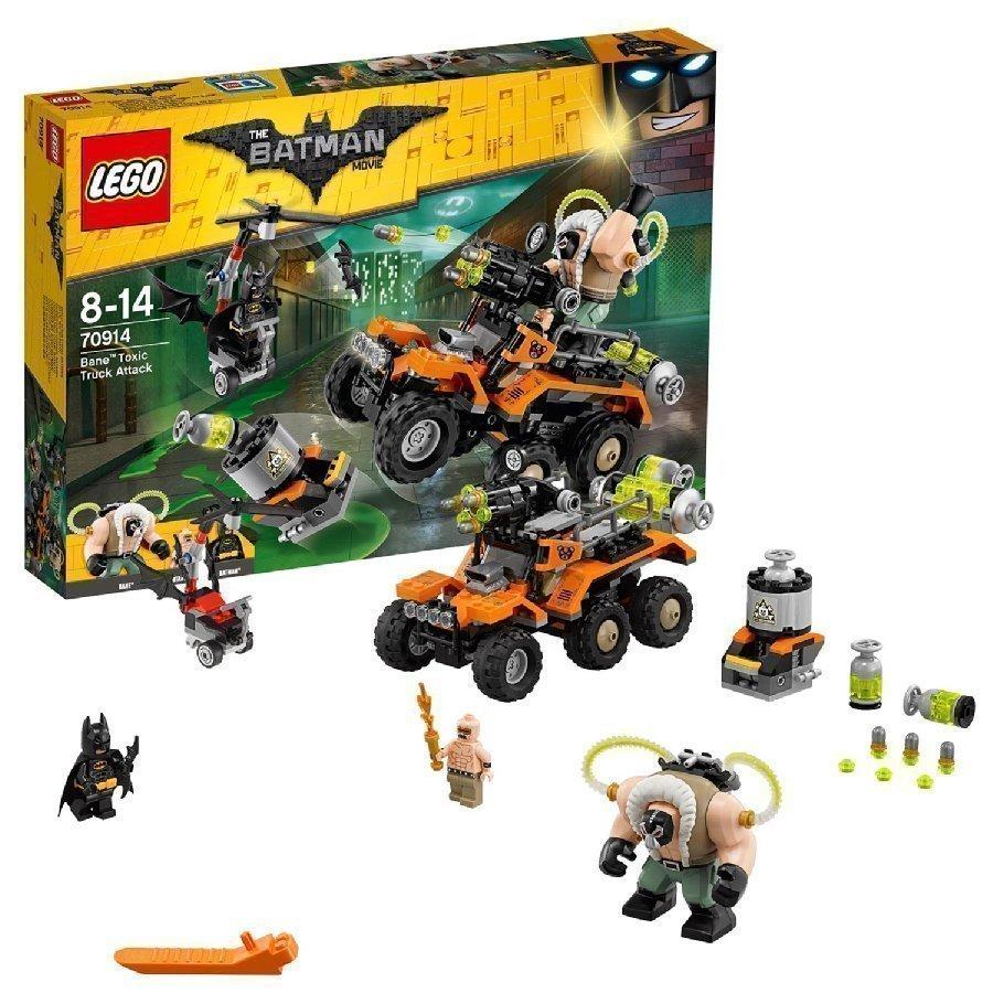 Lego Batman Movie Turmio Ja Myrkkyautohyökkäys