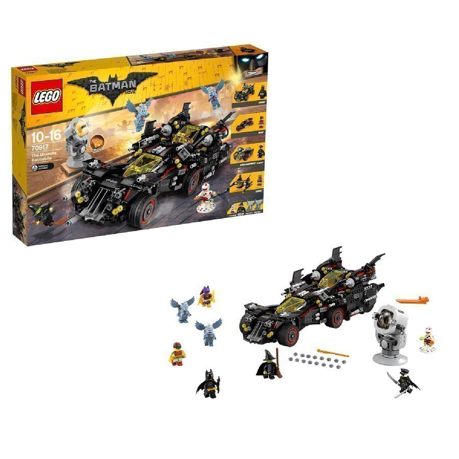 Lego Batman Movie Ylivoimainen Batmobile 70917