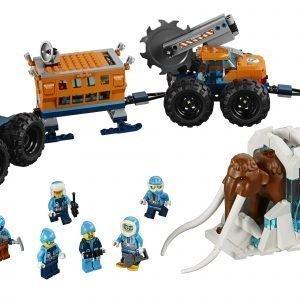 Lego City Arctic Expedition 60195 Arktisen Tutkimusretken Siirrettävä Tukikohta