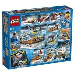 Lego City Coast Guard 60167 Rannikkovartioston Päämaja