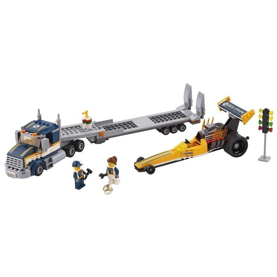 Lego City Dragsterin Kuljetusauto 60151