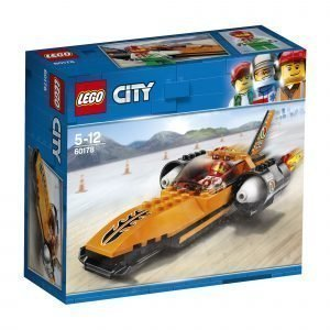 Lego City Great Vehicles 60178 Nopeusennätysauto