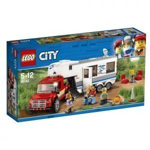 Lego City Great Vehicles 60182 Avopakettiauto Ja Asuntovaunu
