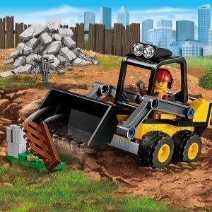 Lego City Great Vehicles 60219 Rakennuskuormaaja