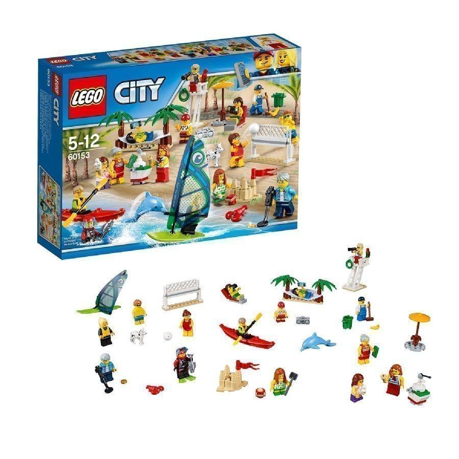 Lego City Ihmiset Hauskaa Rannalla 60153