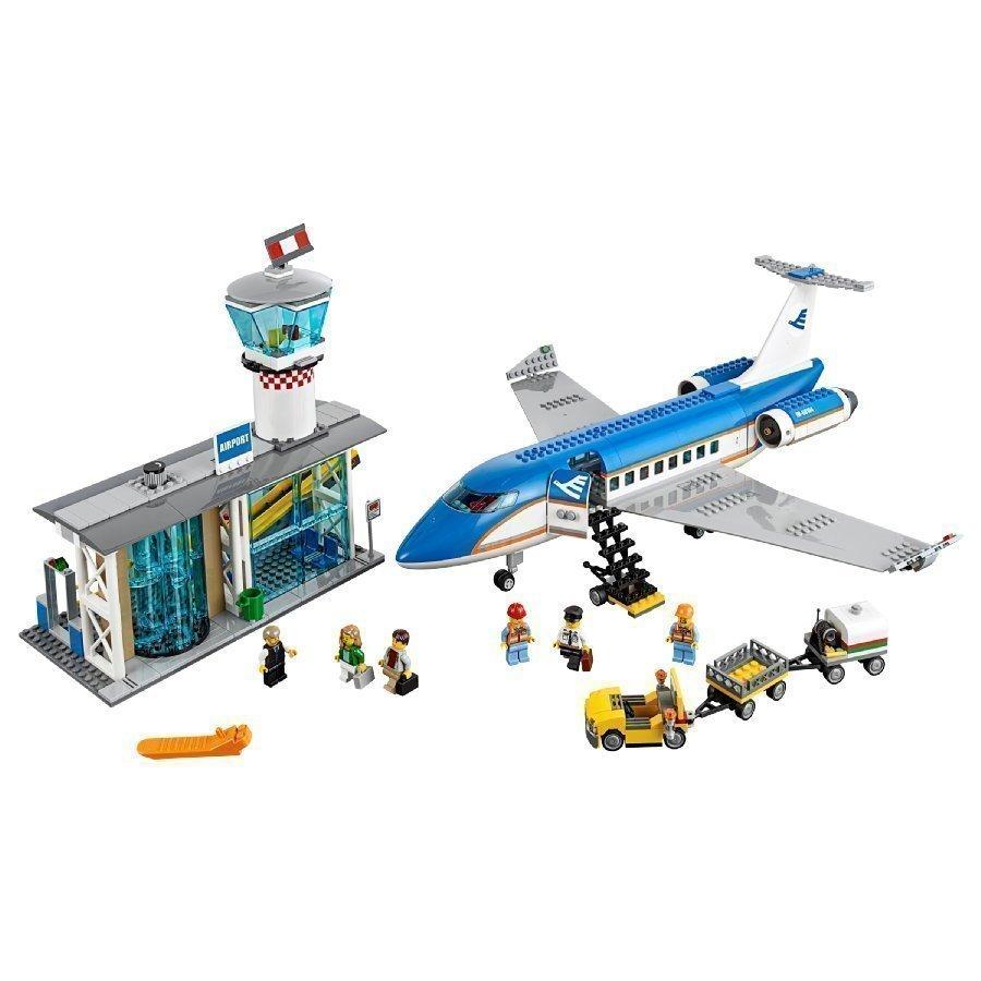 Lego City Lentokentän Matkustajaterminaali 60104