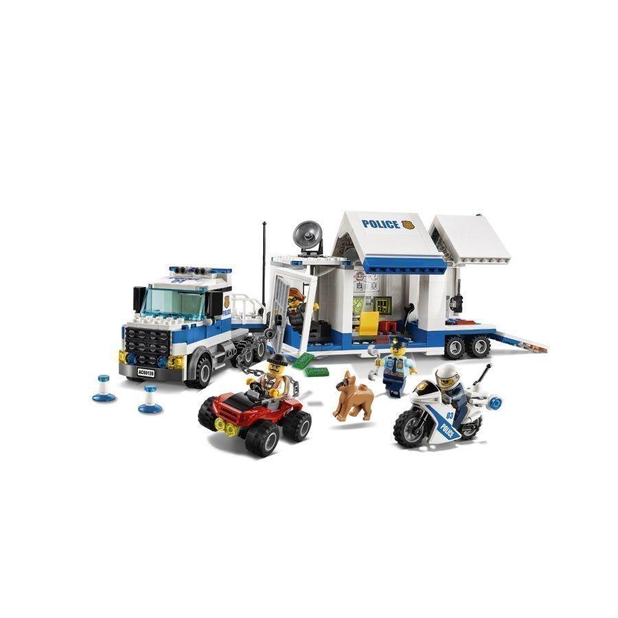 Lego City Liikkuva Komentokeskus 60139