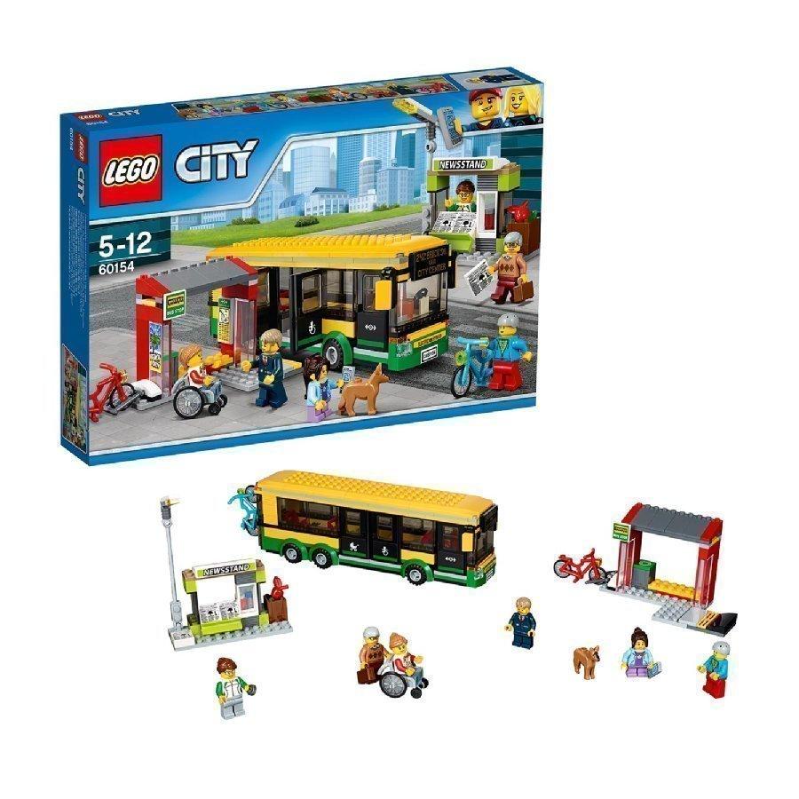 Lego City Linja Autoasema 60154