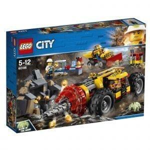 Lego City Mining 60186 Kaivoksen Tehopora