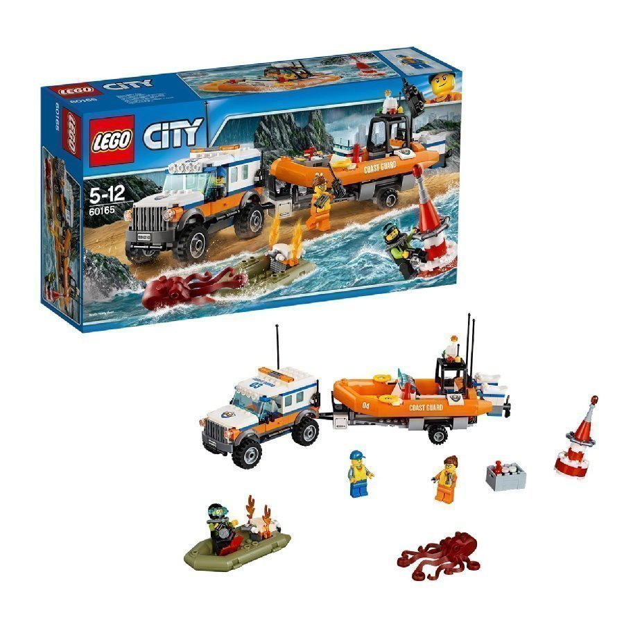 Lego City Nelivetoinen Partioauto 60165